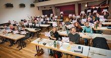 Abstimmung der Großen Tarifkommission Groß- und Außenhandel über die Forderungen in der Tariufrunde
