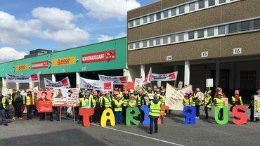 Streik an der Hauptverwaltung