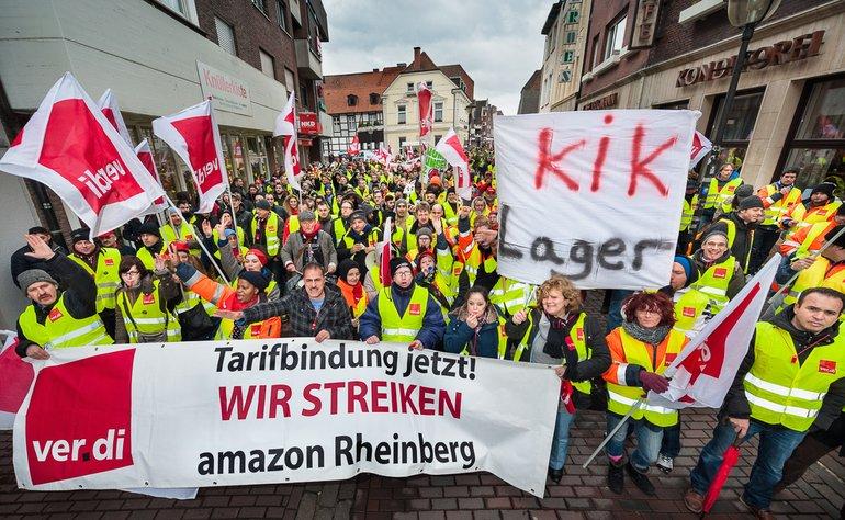 Streik in Werne