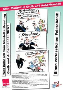 Plakatserie für den Mantel im GAH